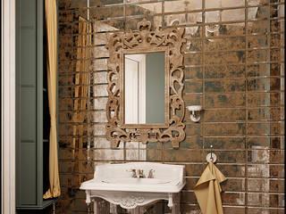 Salle de bain moderne par Частный дизайнер и декоратор Девятайкина Софья Moderne