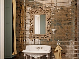 Modern bathroom by Частный дизайнер и декоратор Девятайкина Софья Modern