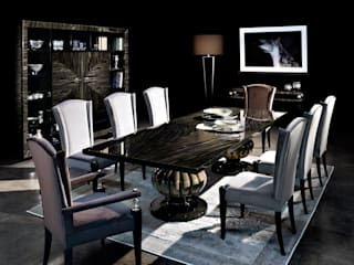 Capital decor kemp dining table:   by We Style Homes