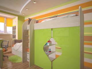 Студия дизайна Виктории Силаевой Chambre d'enfant minimaliste