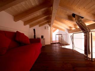 modern Study/office by medeaa Marchetti e De Luca Architetti Associati