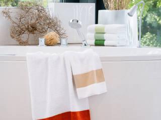 Frottier trifft Chenille - Badtextilien von FEILER: minimalistische Badezimmer von FEILER