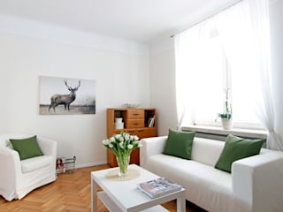 Living room by Better Home, Scandinavian