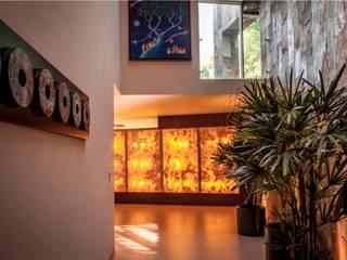 GRUPO VOLTA Modern Corridor, Hallway and Staircase