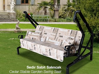 Ferforje Salıncak ERİNÖZ OUTDOOR FURNITURE Akdeniz