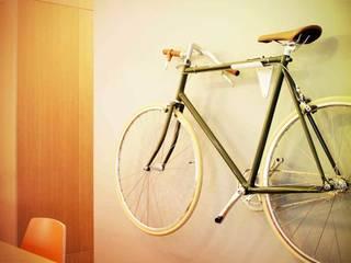 Hang je fiets als een kunstwerk aan de muur:   door Deltareference