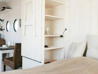 Energieautark leben im Wohnwagon:  Schlafzimmer von Wohnwagon