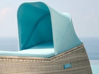Fiji Basket Lounger:  Garten von KwiK Designmöbel GmbH