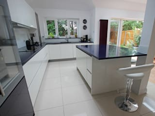 Gloss Kitchens LWK London Kitchens Кухня