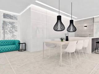 Dom Gdansk: styl , w kategorii Kuchnia zaprojektowany przez Ajot pracownia projektowa