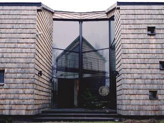 DOM W LIPKOWIE Minimalistyczne domy od SDA - SZCZEŚNIAK DENIER ARCHITEKCI Minimalistyczny