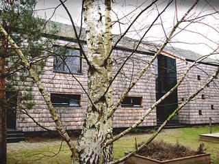 DOM W LIPKOWIE: styl , w kategorii Domy zaprojektowany przez SDA - SZCZEŚNIAK DENIER ARCHITEKCI