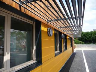 Construction d'une Antenne territoriale à BEAUPREAU (49) SARL d'architecture DOUESNEAU-BANNES Espaces de bureaux modernes