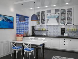 DS Fresco Mediterranean style kitchen