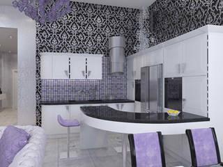 Cocinas de estilo  por архитектор-дизайнер Алтоцкий Михаил (Altotskiy Mikhail), Clásico