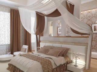 Dormitorios de estilo  por архитектор-дизайнер Алтоцкий Михаил (Altotskiy Mikhail), Clásico