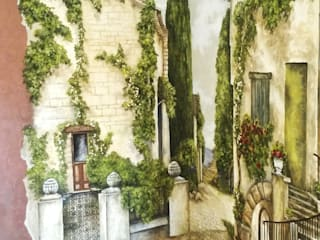 улочка : Гостиная в . Автор – Абрикос