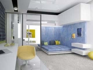 Коттедж: Детские комнаты в . Автор – DS Fresco