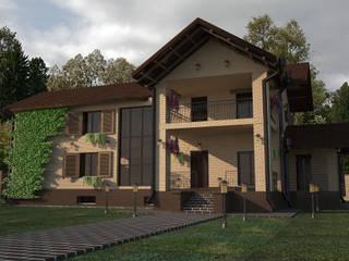 Проекты домов Дома в классическом стиле от DS Fresco Классический