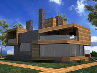 Проекты домов Дома в стиле лофт от DS Fresco Лофт