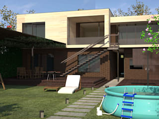 Пентхаус Дома в стиле лофт от DS Fresco Лофт