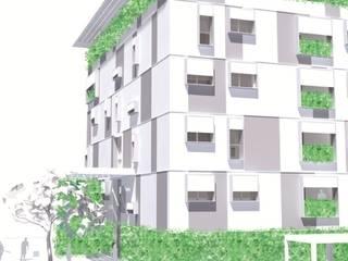 UMBERTO ALESI architetto Casas de estilo moderno