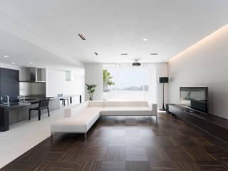 道後白水台の家: 株式会社細川建築デザインが手掛けたビーチハウス・クルーザーです。