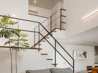 株式会社細川建築デザイン Moderne Wohnzimmer