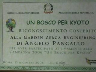 Riconoscimenti:  in stile  di Garden Zerga Group