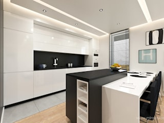 MIRAI STUDIO Modern kitchen