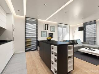 MIRAI STUDIO 現代廚房設計點子、靈感&圖片