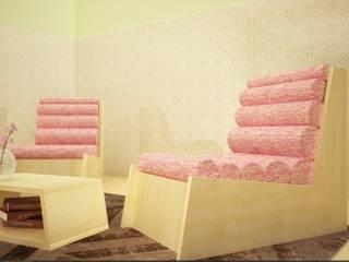 Poltrona Cyl - lana:  in stile  di Architetto Melissa Domenici