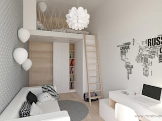 Nursery/kid's room by homify, Scandinavian