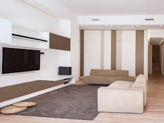 Modern Living Room by Stefania Paradiso Architecture Modern