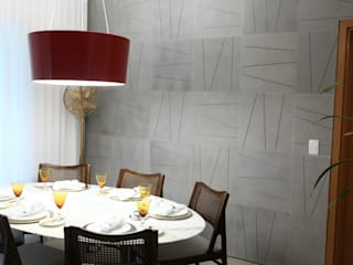 Dining room by Fadel Arquitetura