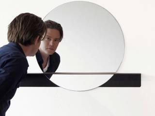 Slide mirror voor DeKnudt Mirrors (BE): modern  door Marc Th. van der Voorn, Modern