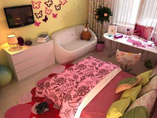 Phòng trẻ em phong cách tối giản bởi Your royal design Tối giản