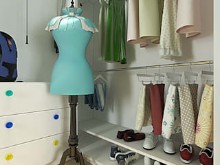 Dressing room by Your royal design, Classic