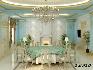Дизайн интерьера в классическом стиле Гостиная в классическом стиле от Цунёв_Дизайн. Студия интерьерных решений. Классический