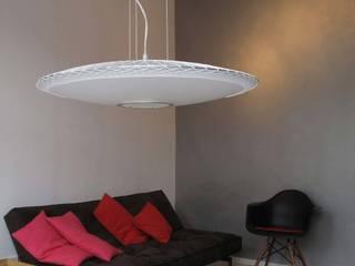 Disque lamp van Marc Th. van der Voorn Industrieel