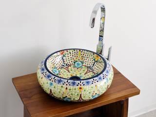 Mexiko Design Waschbecken AVENTURA / Donna:  Badezimmer von Mexambiente e.K.