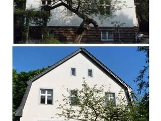 Rückwärtige Hausseite zum Garten und Wald:   von berliner landjungs