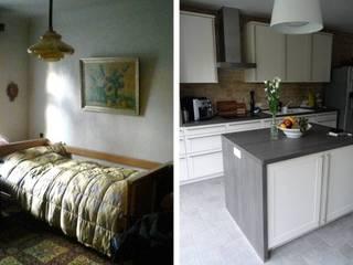 Schlafzimmer wird zur Küche :   von berliner landjungs