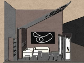 Centros de exhibición de estilo  por Studio Arch. Matteo Calvi , Clásico