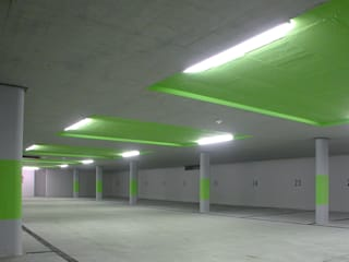 Minimalist garage/shed by nachtaktiv GmbH Minimalist