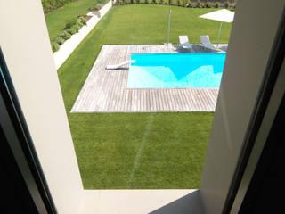 Villa - Boario Terme - 2007 Giardino minimalista di Brizzi+Riefenstahl Studio Minimalista