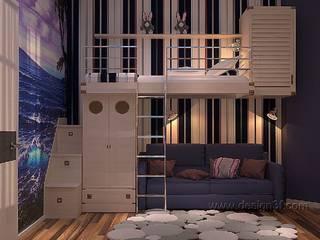 Chambre d'enfant classique par студия Design3F Classique