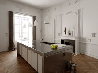 Modern Kitchen by New Home Agency Modern