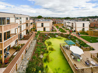 LILAC Co-Housing, Leeds: modern Houses by ModCell