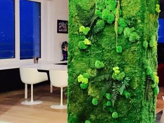 Projekty,  Jadalnia zaprojektowane przez Green Mood